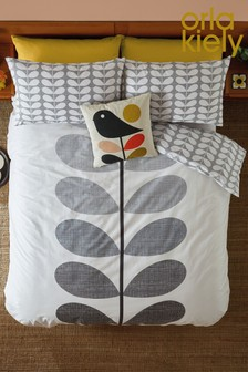 Orla Kiely Placement Scribble Stem Cotton Duvet Cover