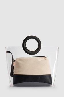 Прозрачная сумка-тоут