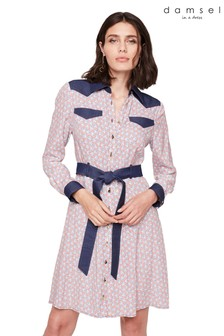 Damsel In A Dress Multi Cecilly Printed Shirt Dress