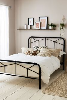 Catalina Black Bed
