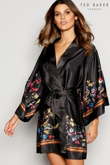 B by Ted Baker Black Opulent Fauna Kimono