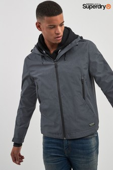 Superdry Grey Elite Windcheater Jacket
