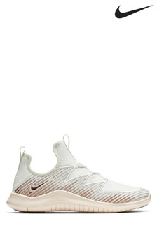 Nike Gym White/Gold Metallic Free TR 9