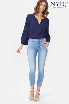 NYDJ Light Denim Alina Ankle Jean