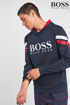 BOSS Panelled Logo Sweat