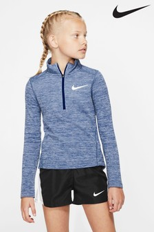 Nike Long Sleeve Half Zip Running Top