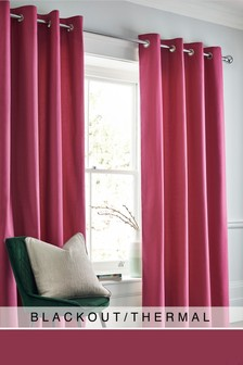 Cotton Eyelet Blackout/Thermal Curtains