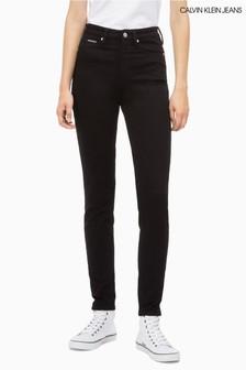 Calvin Klein Jeans Black High Rise Skinny Jean