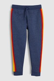 Спортивные брюки с полосками по бокам (3-16 лет)