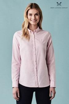 Crew Clothing Pink Bracken Oxford Shirt