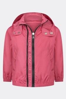 Moncler Enfant Girls Pink Zanice Jacket