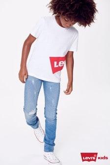 Levi's® 510™ Skinny-Fit-Jeans für Kinder mit heller Waschung