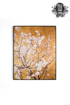 Oriental Blossom Canvas by Art For The Home