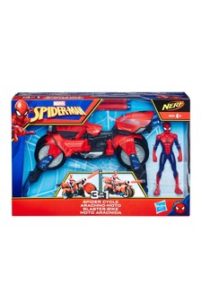 Marvel® Spider-Man™ 3-In-1 Spider Cycle With Spider-Man™ Figure