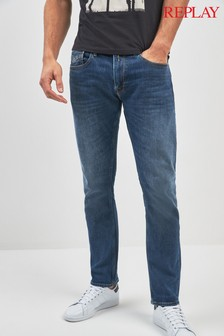 Replay® Rob Straight Tapered Fit Jean