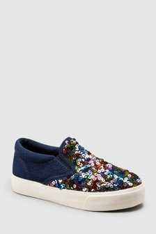 Sequin Skate Shoes (Older)
