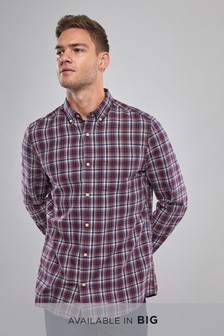 Window Pane Check Long Sleeve Shirt