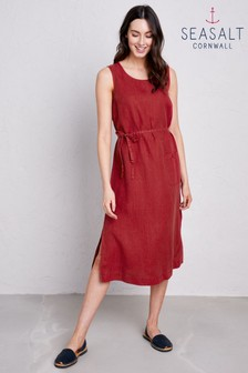 Seasalt Red Sketch Pad Dress