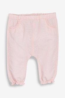 Linen Frill Bloomer Trousers (0mths-2yrs)
