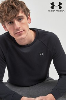 Under Armour Black Rival Crew Sweater
