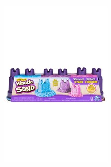 Kinetic Sand 4oz Gems + Metallics Multi Pack
