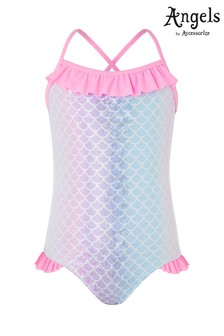 Angels by Accessorize Metallic Ombre Mermaid Swimsuit