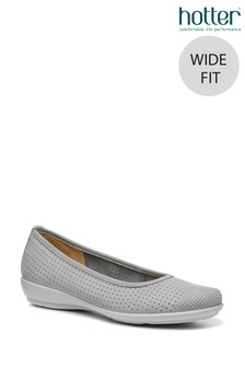 Hotter Livvy II Wide Fit Slip On Pump Shoes