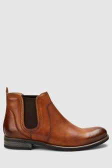 Round Toe Chelsea Boot