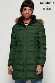 Superdry Green Mountain Fuji Coat