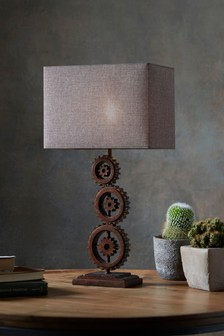 Brunel Cog Table Lamp