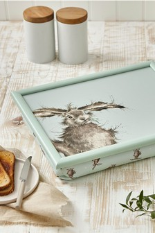 Royal Worceser Wrendale Hare Lap Tray
