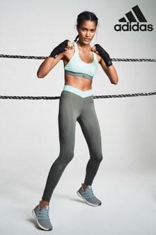 adidas Khaki/Mint Alpha Skin 2.0 Tight