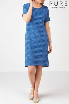 Pure Collection Blue Versatile Dress