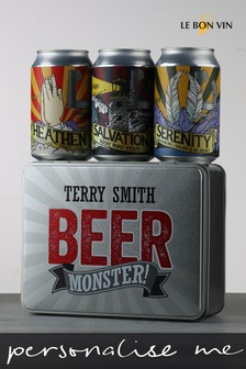 Personalised Beer Monster Divine Craft Beer by Le Bon Vin