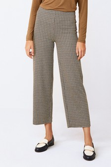 Cropped Ponte Trousers