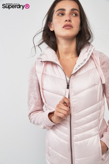 Superdry Pink Hybrid Jacket