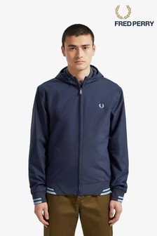 Fred Perry Tipped Hooded Sports Jacket