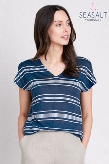 Seasalt Blue Snapshot T-Shirt