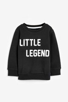 Little Legend Crew Top (3mths-7yrs)