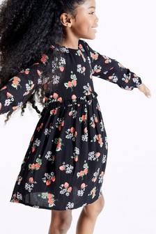 Printed Frill Dress (3-16yrs)