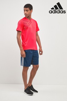 "adidas Ink 9"" 3 Stripe Short"