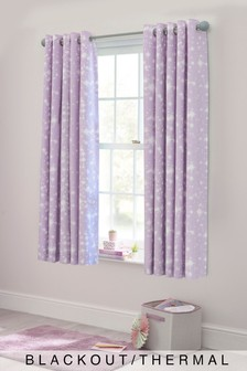 Starlight Pencil Pleat Curtains
