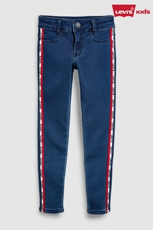 Levi's® Kids 710™ Tape Sides Super Skinny Fit Jean
