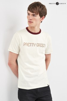 Pretty Green Courtney Logo T-Shirt