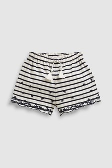 Embroidered Shorts (3mths-7yrs)