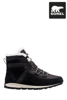 Sorel® Black Whitney™ Flurry Lace-Up Boots