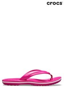 Crocs™ Candy Pink Crocband Flip-Flops