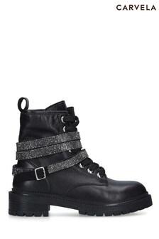 Carvela Black Tuxedo Shoes