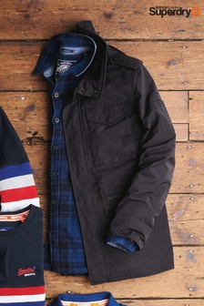 Superdry Black Utility Jacket