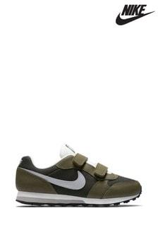 נעלי ספורטMDRunnerJunior עם רצועות ולקרו של Nike